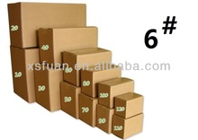 Number three layers aa 6 cartons/paper packaging box/