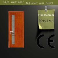 new style CE turkey style walnut interior doors design