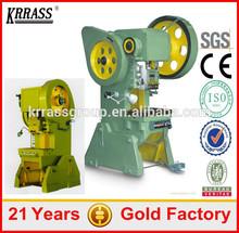 J21/ JB23/ JF21-160ton punching machine , metal punch press for custom design hole punch
