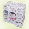 wholesale of foldable large plastic storage boxes diy for home finishing