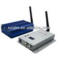 Longa distância 2.4 5000mw ghz wireless audio video transmissor e receptor
