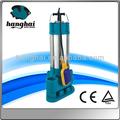 Corpo de aço inoxidável submersíveis de esgoto bomba, interruptor de bóia de bomba submersível elétrica