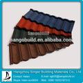 Coloridos de pedra revestida de telhas metálicas/lowes folha de coberturas metálicas/telha custo