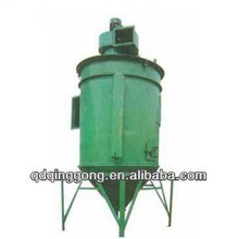 Rolling drum type shot blasting machine for truck parts