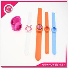 guangzhou made Customized Logo kids slap watch