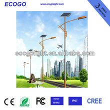 20W high quality led iluminacion postes de luz solar