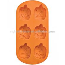 funny Pumpkin Lantern silicone Halloween baking mold