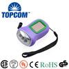 Emergency rechargeable 3 led solar flashlight dynamo led flashlight