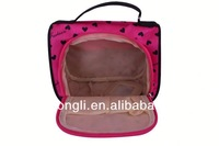 2013 new products satin travel cosmetic bag