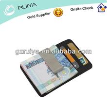 Men'sLeather Wallet Credit Card ID Holder Money Clip Card Case Billfold