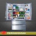 sem gelo refrigerador da porta francesa com máquina de gelo