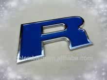Chrome Plastic Custom car chrome badge emblem