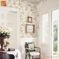 hogar papel pintado interior de pvc en relieve de vinilo para paredes