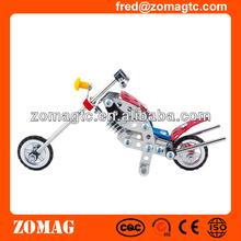 DIY Metal Educational Motorcycle Toys