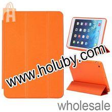New Arrived Tri-fold Stand Flip Leather Case for iPad Mini 2 Retina
