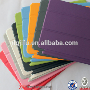 For ipad mini case, The hottest Ultrathin smart magnetic leather cases cover stand