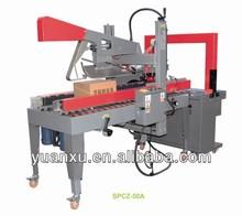 YK-05 Automatic Flap Folder Carton Sealing Machine&Sealer for food and beverage