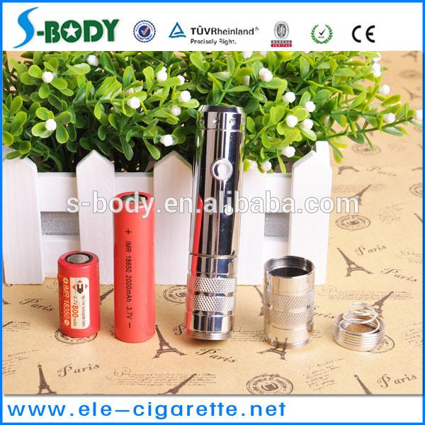 S-body newly arrival EZDNA vv e cig variable voltage e health cigaree china shenzhen supplier