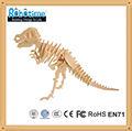 Robotime en 3d de madera dinosaurio puzzles/rompecabezas t rex