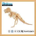 Robotime wooden 3D puzzle dinosaur T rex