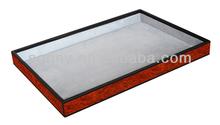 Hotel use Elegant wood serving trays wholesale