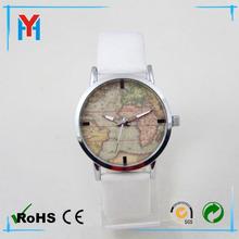 wholesale women watch customer design word map dial watch world cup watch