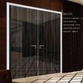 duplo design da porta de madeira