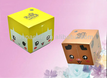 2014 la fábrica de china de promoción del papel memo cubo