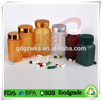Opaque plastic food storage bottles/containers/jars/tubs screw top lid
