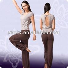 sexy fashion style nylon spandex yoga wear