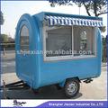 2014 de nuevo diseño de los alimentos del quiosco del remolque!!! Personalizado foodcart jx-fr220h
