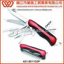 multifunctional and powerful custom pocket knife