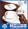 modern pattern chinaware set with dinner plates canton fair supplier