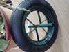 14 inch solid rubber spoke wheels
