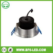 90lm/w 15watt 4 inch led downlight 100mm cut out recessed down light 2700k-6500k