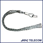 Heavy duty pulling grip / hoisting grip / cable socks with swivel connector for cable and tube