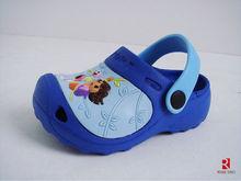 2014 garden massage eva child flip flop