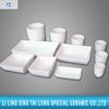 laborary high temperature resistant alumina ceramic refractory crucible for roasting container