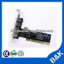 PCI Card,USB Card,VIA 4+1 ports 2.0 MOQ10