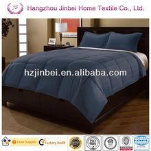100% Polyester Dark Charcle 3cm Stripe Down Alternative Comforter/Microfiber Duvet/Polyester Quilt