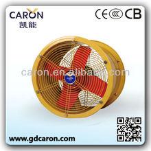 AC heavy duty industrial exhaust fans / exhaust fan motor / tube axial fan blower