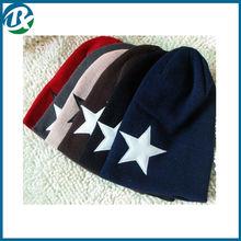 Warm Solid Color Winter Cuff Beanie Knit Ski Cap