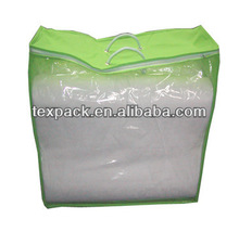 Free sample!!Transparent plastic bag for quilt pvc bag