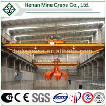 Hot Sale Overhead Grab Bucket Crane with Competitive Price