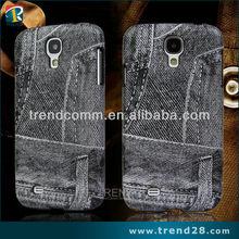 fashionable imitate denim PC mobile case for samsung galaxy s4