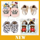 2014 new fashion baby shoes,soft sole leather baby shoes
