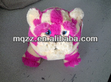 walking plush cat toy