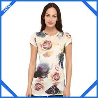 wholesale ladies club t shirts long length