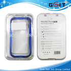 Blue Shiny Aluminum Bumper Case for Samsung S3 i9300 with Free Screen Protector