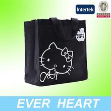 Hot Sell Hello Ketty Non-Woven Fabric Tote Shopping Bag